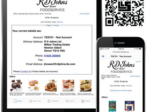 The New RD Johns Foodservice App
